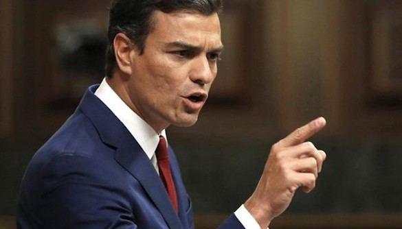 Sánchez acusa a Rajoy de