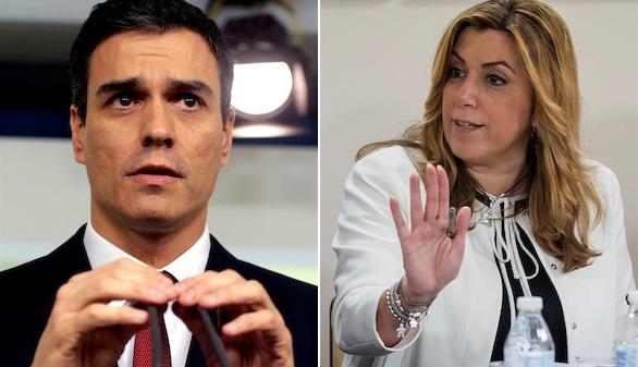 Sánchez llama a los barones para convencerles del frente popular