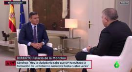 Sánchez: 'Hoy podría ser presidente, pero no dormiría por la noche'