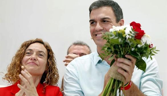 Sánchez trata de recuperar el voto perdido en Cataluña