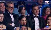 La broma de Buenafuente a Sánchez: 'Aquí el guapo es Banderas'