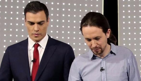 Sánchez resucita el frente popular y aparca el pacto con Rivera