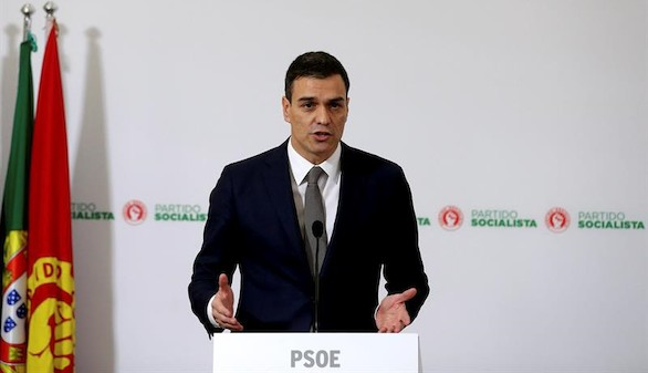 Pedro Sánchez refuerza en Lisboa su intento de formar un frente popular