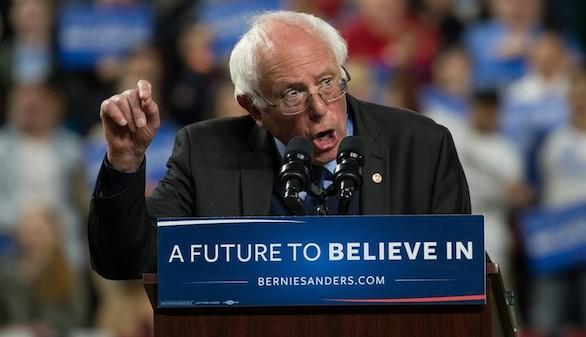 Bernie Sanders coge