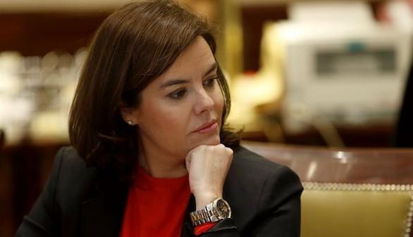 Sáenz de Santamaría confiesa que no quiere ser presidenta