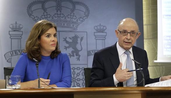 El Gobierno recuerda a Mas que la mayoría no sirve para romper España