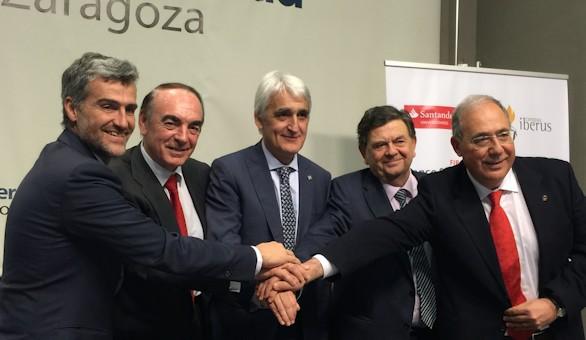 Campus Iberus y Santander Universidades crearán equipos punteros en I+D+i