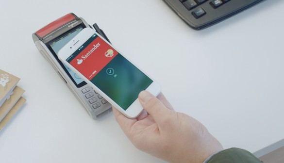 Apple Pay, ya disponible para los clientes de Banco Santander
