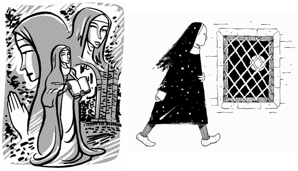 Santa Teresa de Jesús, según trece guionistas y dibujantes de cómic