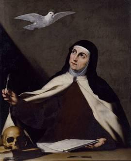 Santa Teresa de Jesús, de Ribera