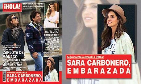 Sara Carbonero, de nuevo embarazada