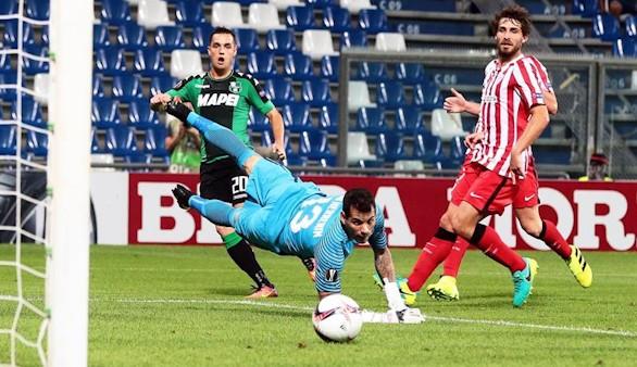 El Sassuolo golpea al Athletic en el estreno de la Europa League | 3-0