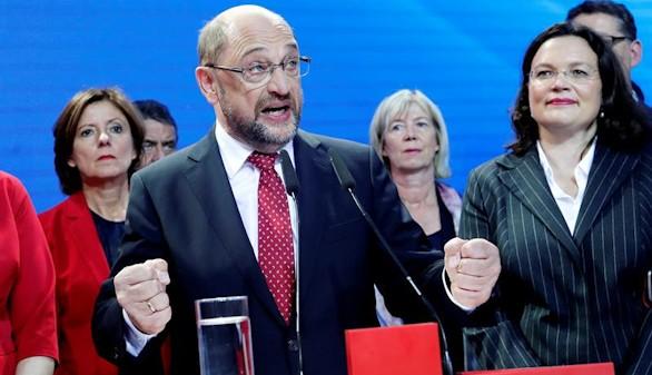 El SPD de Schulz cosecha el peor resultado desde la II Guerra Mundial