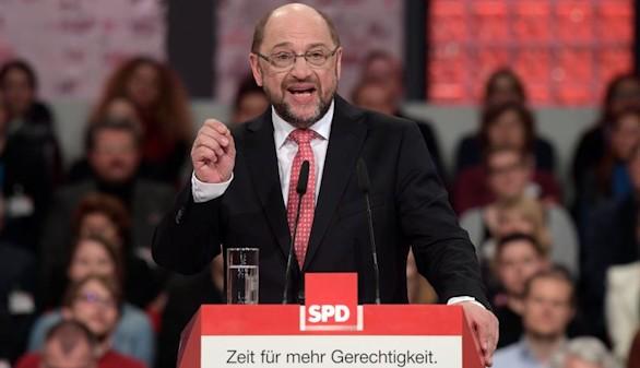 Schulz recibe el apoyo unánime del SPD para enfrentarse a Merkel