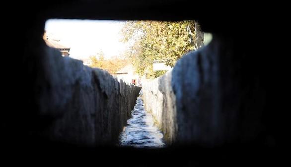 Segovia muestra los desarenadores del agua de su acueducto romano