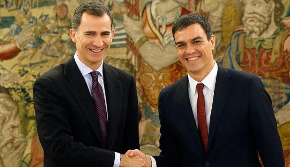 El Rey propone a Pedro Sánchez para ser candidato a la investidura
