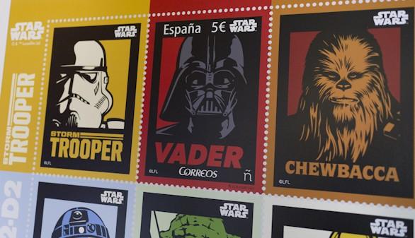 Correos se apunta al 40º aniversario de Star Wars con un sello conmemorativo