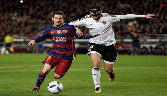 Partido de trámite en Mestalla entre Valencia y Barcelona