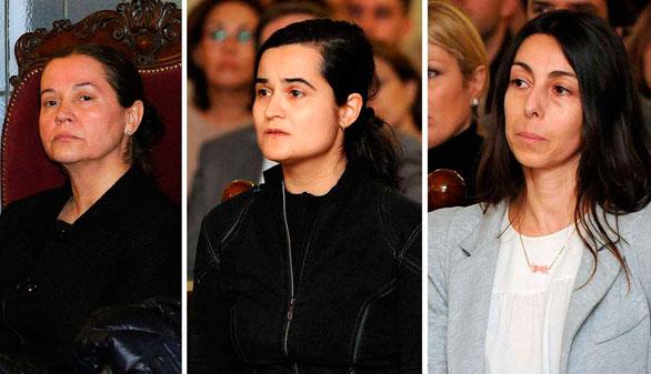 Caso Carrasco: 22 y 20 años para Montserrat y Triana; 5 para Gago