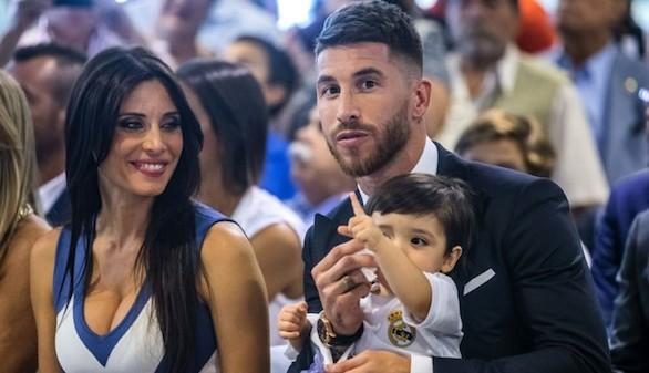 Sergio Ramos y Pilar Rubio presentan a su segundo hijo