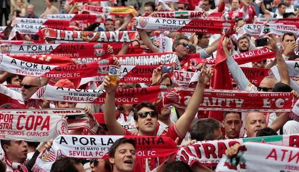 El Sevilla doma al Liverpool para lucir pedigree en Europa |Cronología