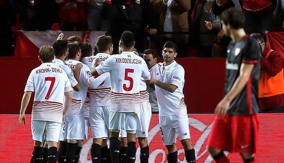 El Sevilla sigue fuerte en el Pizjuán |2-0