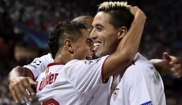El Sevilla logra un importante triunfo en su camino hacia los octavos |1-0