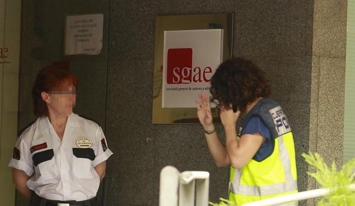 Prisión bajo fianza para tres socios de la SGAE