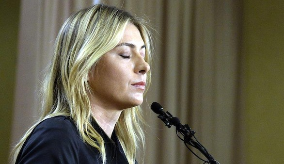 Sharapova confiesa que se ha dopado con el medicamento meldonium