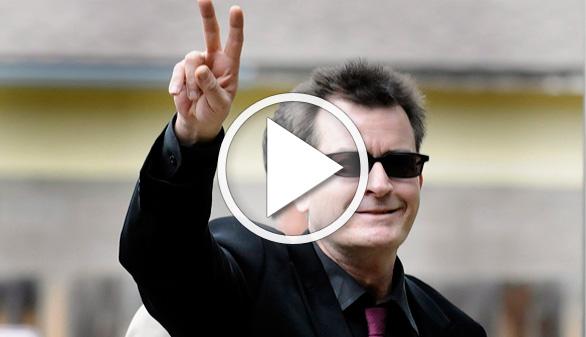 Charlie Sheen anuncia que porta el virus del sida