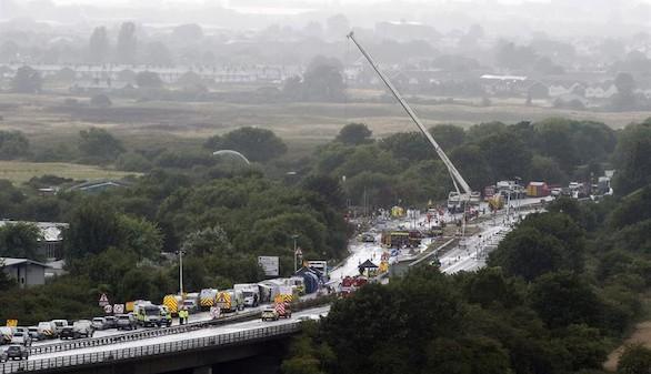 Al menos 20 fallecidos en el accidente de Shoreham