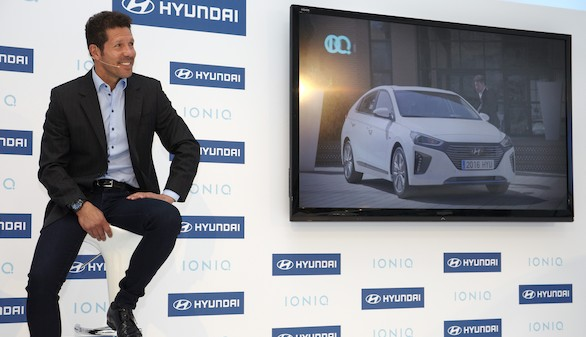 Hyundai descubre a su fichaje estrella: Diego Simeone