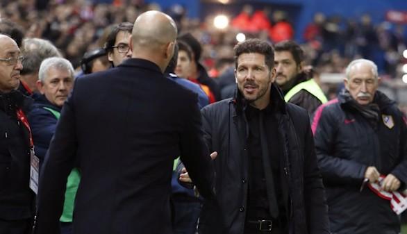 Simeone es el mejor entrenador de 2016, por delante de Zidane