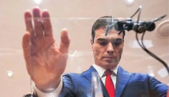 Sánchez hace campaña 'de cercanía' en Palma de Mallorca