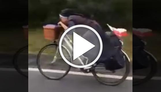 Vídeos virales. 'Sor Bicicleta', la monja que se hizo viral
