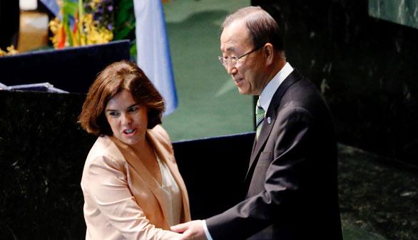 España firma el acuerdo de París junto a más de un centenar de países