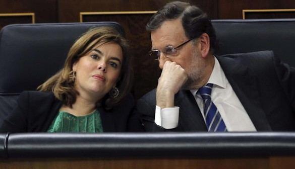 Sáenz de Santamaría, y no Rajoy, irá al debate televisado a cuatro