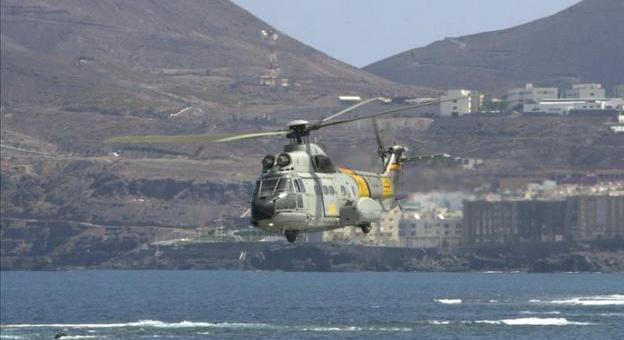 Continúan las labores de búsqueda del helicóptero siniestrado