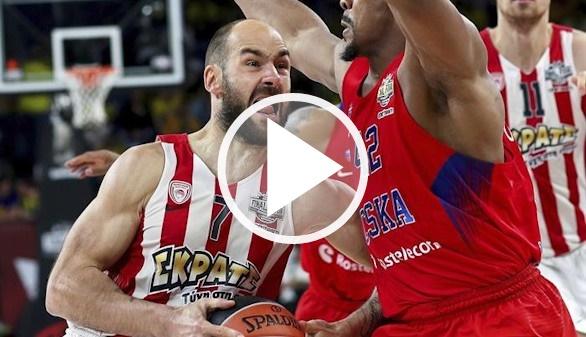 Euroliga. El Olympiakos enfanga al favorito CSKA y es finalista | 78-82