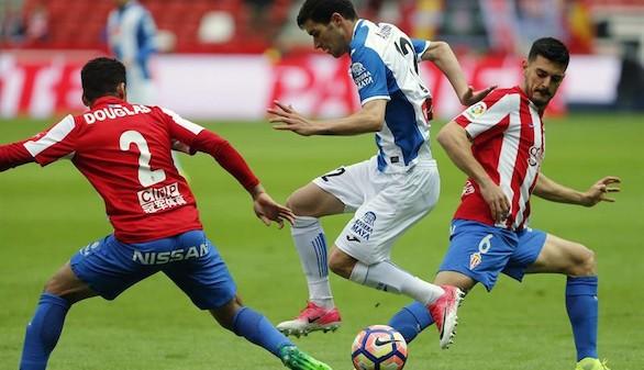Sporting y Espanyol, empate que no vale a ninguno |1-1