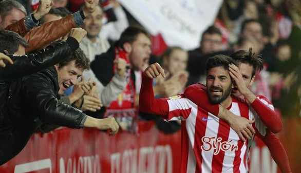 El Sporting rompe su racha negativa a costa de Osasuna |3-1