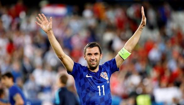Srna publica su retirada de la selección croata