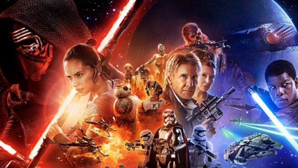 Star Wars: el despertar de la fuerza ya es la película más taquillera de la historia