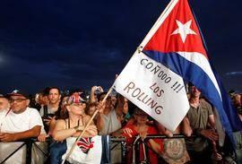 Los Rolling Stones conquistan en Cuba la última frontera del rock