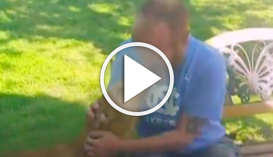 Vídeos virales. Su mejor amigo no le reconoció tras perder 25 kilos