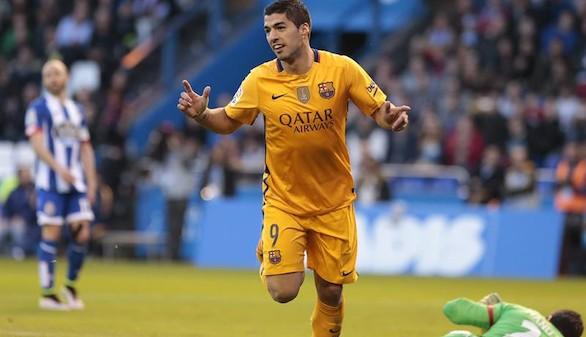 Festín de Suárez para tranquilizar al Barcelona |0-8