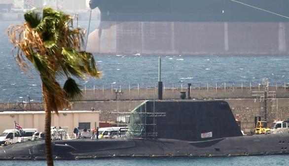 El submarino accidentado en Gibraltar será reparado en Reino Unido