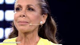 Isabel Pantoja durante su entrevista en 'Supervivientes: Conexión Honduras'.