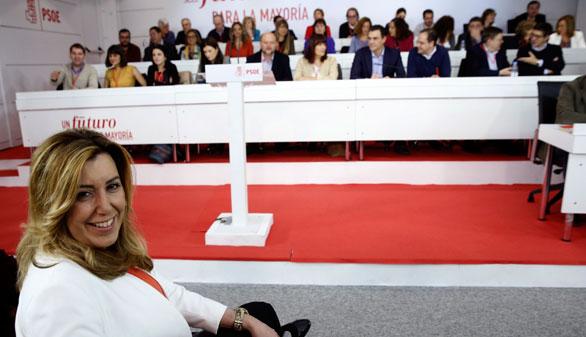 Órdago de los barones del PSOE: nuevas elecciones y Susana Díaz de candidata