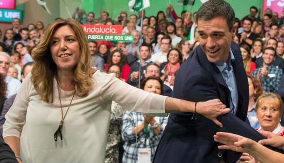 El pulso entre Sánchez y Díaz amenaza el pacto con Podemos